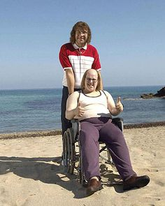 Production stills from the 2006 Christmas Special of Little Britain. Part of the official BBC Little Britain web site. British Humor, British Comedy, Britain Funny, Mad Tv, Little Britain, Parks N Rec, Favorite Tv Shows, Movie Tv, Things I Want