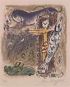 Christ as a clock - Marc Chagall Life Of Christ, Marc Chagall, Jewish Art, Art Database, Naive Art, Clock, History, Fictional Characters, Artworks