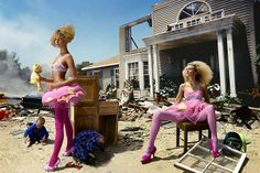 Post-Apocalyptic Fashion & David LaChapelle