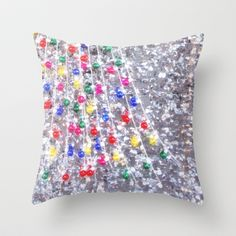 happy holidays! Throw Pillow by Marianna Tankelevich - $20.00