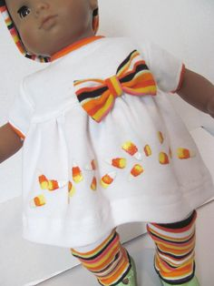 Bitty Baby Doll Clothes Halloween Outfit by fashioned4you on Etsy
