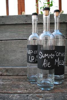 At homebrew bottles