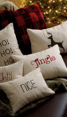 Home Hardware - Make Memories - christmas pillows