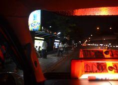 Sitting Up Front in Van - Bangkok Student Life at Night in Sripatum University - For full blog on nights in Sripatum University check here: http://live-less-ordinary.com/bangkok-expat/bangkok-student-life-sripatum-university