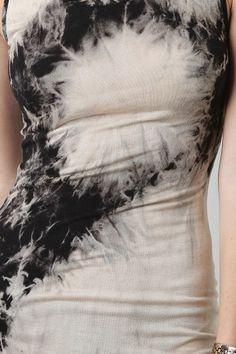 Sage Tie Dyed Dress. Ooh, it looks like frost!