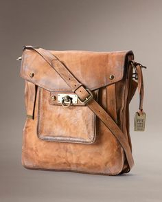 Frye Cameron Magazine Crossbody - Tan