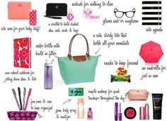 College and/or work tote bag essentials that every stylish and busy woman must have! Check it out at http://satinandshadow.com
