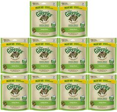 GREENIES Feline Dental Treat for Cats Catnip Flavor ** Learn more by visiting the image link. (This is an affiliate link) Cat Treats, Cat Supplies, Ben And Jerrys Ice Cream, Dental, Kitty, Pets, Image Link, Bag, Drop