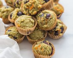 Gluten-Free Muffins for Kids (with Blueberries and Avocado)
