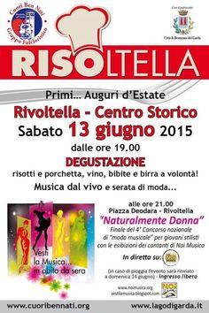 A Rivoltella di Desenzano del Garda, sabato 13 giugno 2015 c'è Risoltella @gardaconcierge