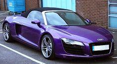 Tulisa Audi R8