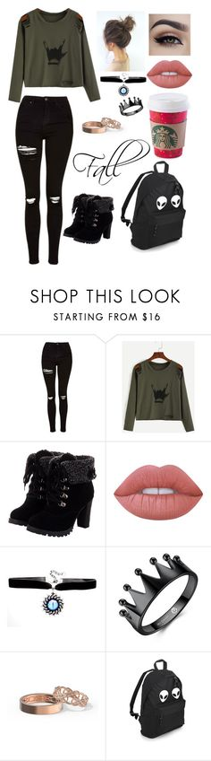 """""""Untitled #156"""" by btsoutfitsarmy on Polyvore featuring Topshop and Lime Crime"""