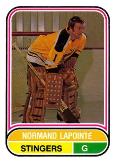 Hockey Logos, Hockey Goalie, Hockey Cards, Baseball Cards, Cincinnati, Nhl, Sports, Legends, Vintage
