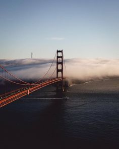 Golden Gate Bridge, Karl the fog #sanfrancisco #bayarea