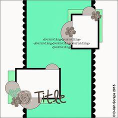 D-lish Scraps: Sketch Gallery