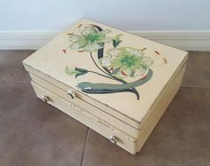 Antique Painted TIGER LILIES Solid Wood 2 by AmazingSilver21
