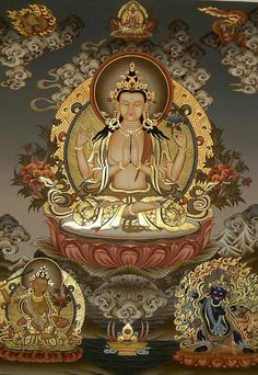 Avalokiteshvara, the Sanskrit word for Kuan Yin. She hears the cries of suffering in the world and responds with compassion. WILD WOMAN SISTERHOODॐ #WildWomanSisterhood #goddess #spiritualityteachings #wildwomanteachings #bodhisattva #buddhistdeities