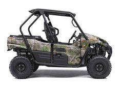 New 2016 Kawasaki Teryx Camo ATVs For Sale in Ohio.