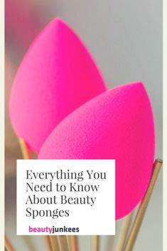 MAKEUP SPONGES | We have the makeup sponge encyclopedia for you right here! Beauty sponges are this decade's big breakthrough in makeup tools, and for good reason. The design of the egg-shaped makeup sponge blender made it effortless to apply and blend foundation, concealer, and other products.