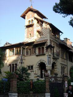 Italian Villas: Villino delle Fate,Roma, Italy
