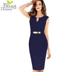 Plus Size 3XL 4XL Summer Sheath Casual Women Dress 2016 Fashion Quality Sleeveless V Neck Waist Fold Knee-Length Dress Wholesale
