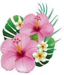 Resultado De Imagen Para Molde Flor Moana Flores Pintadas Arte Flor Flores Havaianas