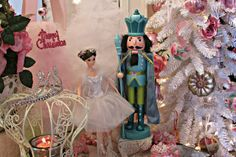 Penny's Vintage Home: Nutcracker Christmas Tree - Ava's room