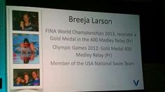 Breeja Larson, ASEA Athlete