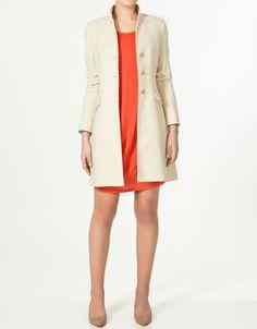 WANT: Zara Velveteen Coat