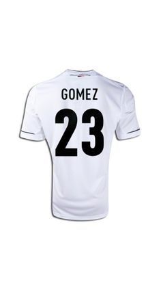 5bad9b8ae Wholesale new and best Euro 2012 2013 Germany Gomez 23 Home football kits  soccer kits