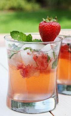 Strawberry Mango Mojito