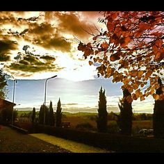 "@albyvez's photo: ""#autumn #colours #franciacorta #iphonesia #cloud #l4l #instagramers #instaboh"""