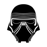 kylo-ren-mask-stencil-thumb-150x150 150×150 pixeles | star wars stencil, star wars patch