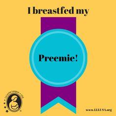 I breastfed my preemie