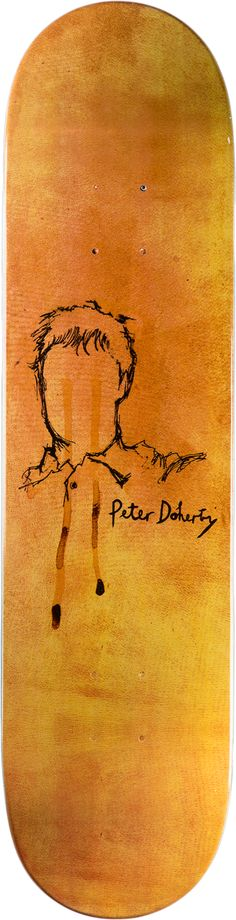 Pete Doherty skate deck - skateboard