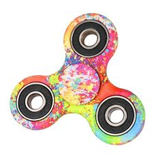 ASSKDAN Hand Spinner Stress Relief Toy Coloré Spinner main Fidget Toy Réducteur de stress Made Bearing Focus Anxiety Relief Toys for…