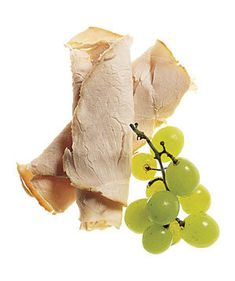 Turkey and Grapes | They're under 200 calories, healthy, satisfying, and pro-approved―what's not to love?