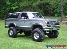 1986 Ford Bronco Off-Road picture Big Ford Trucks, Classic Ford Trucks, Lifted Trucks, Lifted Dually, Small Trucks, 4x4 Trucks, Diesel Trucks, Ford Bronco Concept, 1979 Ford Bronco