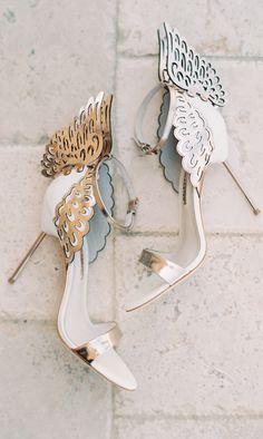 Butterfly heels // Sophia Webster
