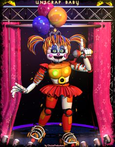 Explore the FNAF 6 collection - the favourite images chosen by on DeviantArt. Fnaf Drawings, Undertale Drawings, Five Nights At Freddy's, Fnaf Baby, Fnaf Sl, Fnaf Wallpapers, Circus Baby, Freddy Fazbear, Fnaf Characters