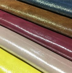 Check out our new collection of Metallic Portland Leather in many colors😀 Soon on our stores! If you want other special colors let us know!