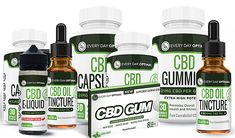 All CBD Oil Products From Every Day Optimal CBD