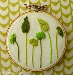 Love this...I can't get enough of all those french knots.