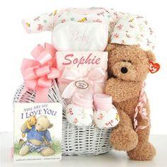 Newborn Baby Girl Gift Hamper