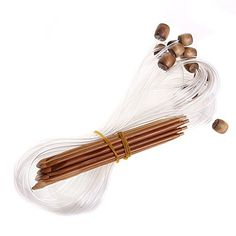 LeegoalTM Carbonized Bamboo Tunisian Crochet Hooks Circular Knitting NeedlesSet of 12 *** Click on the image for additional details.Note:It is affiliate link to Amazon. #clouds