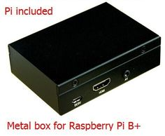 66.00$  Watch here - http://alizoi.worldwells.pw/go.php?t=32229541902 - Metal Box High Quality Case / Box / Shell for Raspberry Pi B+ model b plus 66.00$