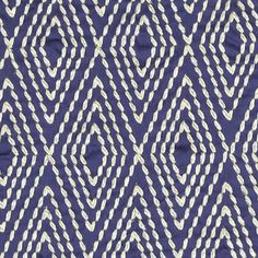 My Fabric Connection - Robert Allen Fabric Ancient Angle Lapis, $108.00…