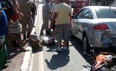 JORNAL O RESUMO - NOTÍCIA - CABO FRIO - CIDADE: Acidente com motociclista deixou o centro de Cabo ...