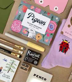 We love a flat lay - even though it might take an hour or two hours to do... Letter Folding, Gift Store, Stationery, Lettering, Flat Lay, Paper, Creative, Gifts, Ink Cartridges