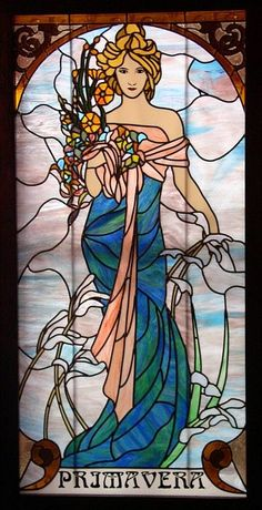Spring by Olimpia Alphonse Mucha